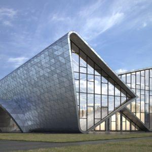 Архитектурное проектирование Производственно-выставочного здания в г. Екатеринбург